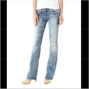 Silver Tuesday Low Rise Slim Bootcut